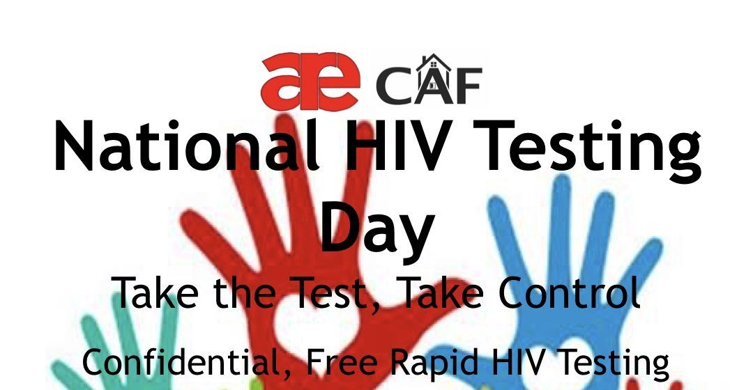 National HIV Testing Day June 27th!