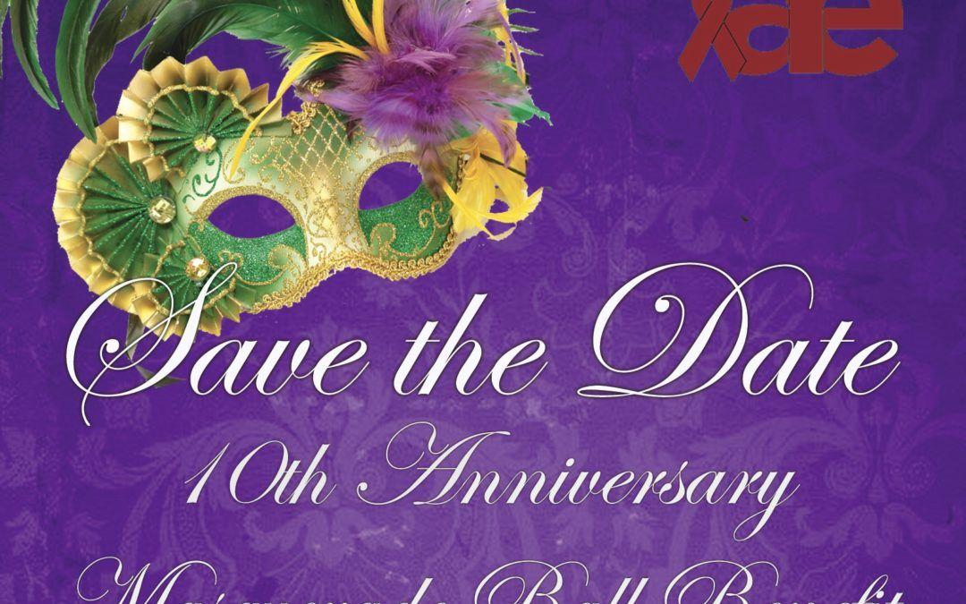 10th Anniversary Masquerade Ball Benefit