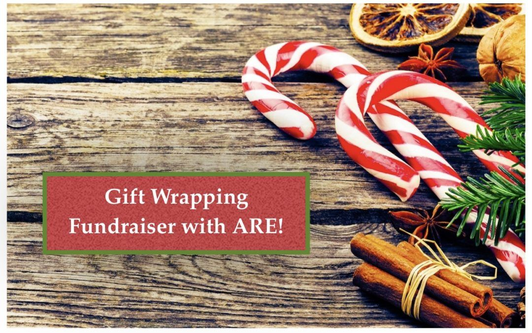 Gift Wrapping Fund Raiser with ARE!
